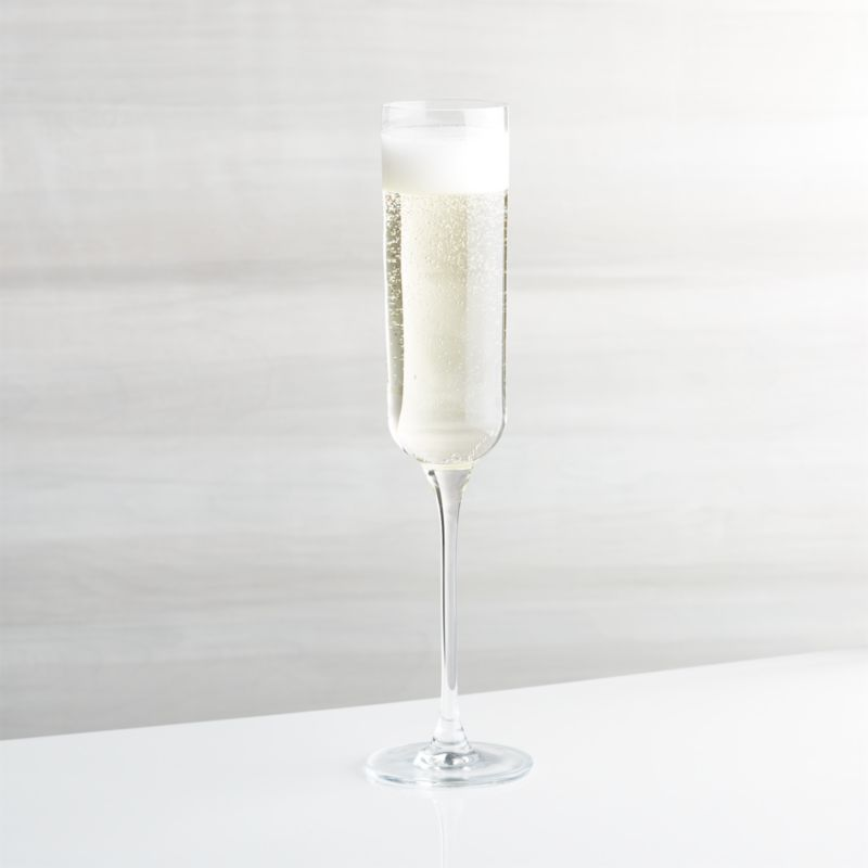 This exceptionally clear champagne glass joins our bestselling barware collection, showcasing sparkling wines with its gently rounded cylindrical body and slender stem.<br /><br /><NEWTAG/><ul><li>Glass</li><li>7 oz.</li><li>Cut and polished rim</li><li>Hand washing recommended</li><li>Made in Poland</li></ul><br />