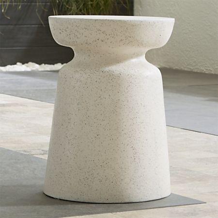 Brilliant Crest Side Table Stool Inzonedesignstudio Interior Chair Design Inzonedesignstudiocom