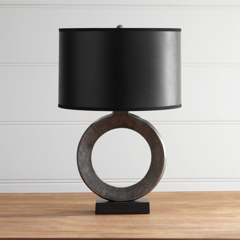 Crest Table Lamp With Black Shade + Reviews