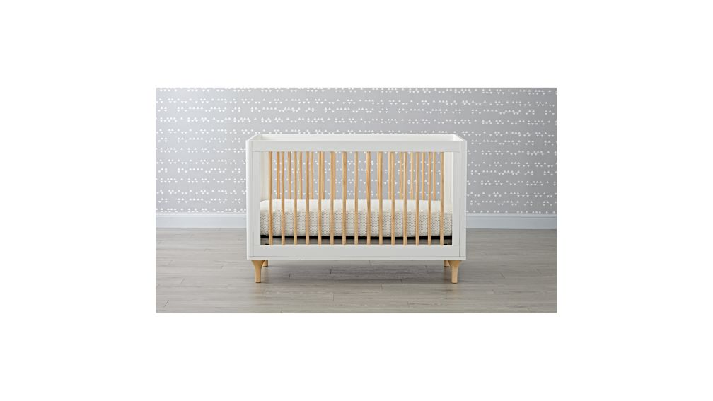 Lolly White & Natural 3-in-1 Crib