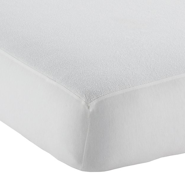 Waterproof Crib Mattress Pad Reviews Crate And Barrel