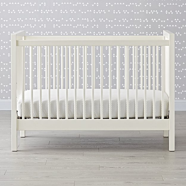 Fantastic Andersen White Crib + Reviews | Crate and Barrel ZV17