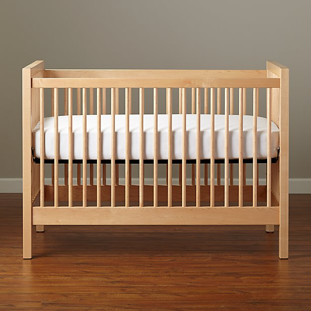 Maple Andersen Crib Crate And Barrel