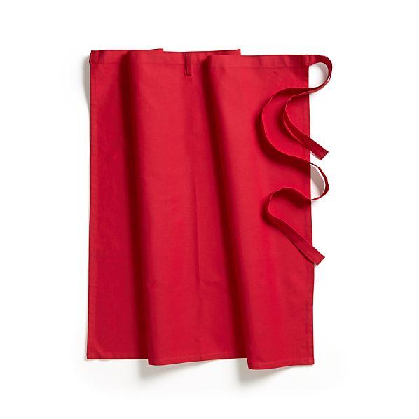 Crimson Red Apron