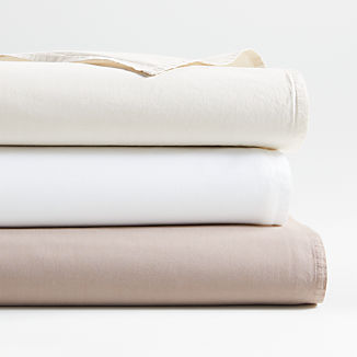 Crisp Cotton Percale Sheet Sets