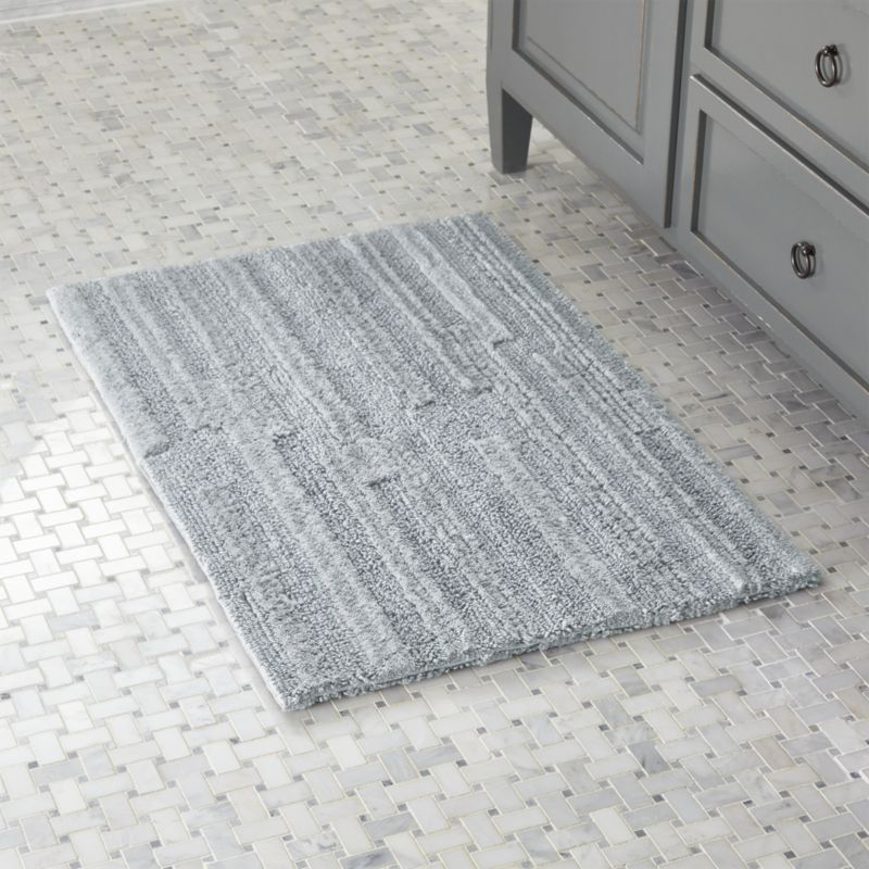 Crosley Grey Reversible Bath Rug by Crate&Barrel