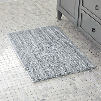 Crosley Grey Reversible Bath Rug 2'x3'
