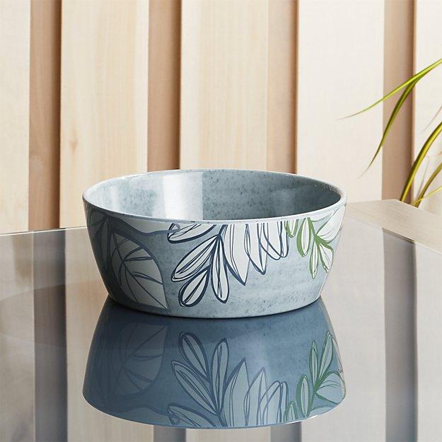 Cruz Botanical Melamine Bowl - Image 1 of 4