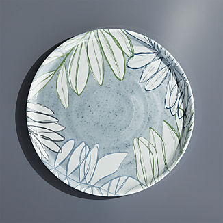Cruz Botanical Melamine Dinner Plate