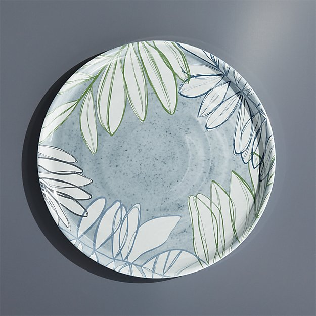 Cruz Botanical Melamine Dinner Plate - Image 1 of 4