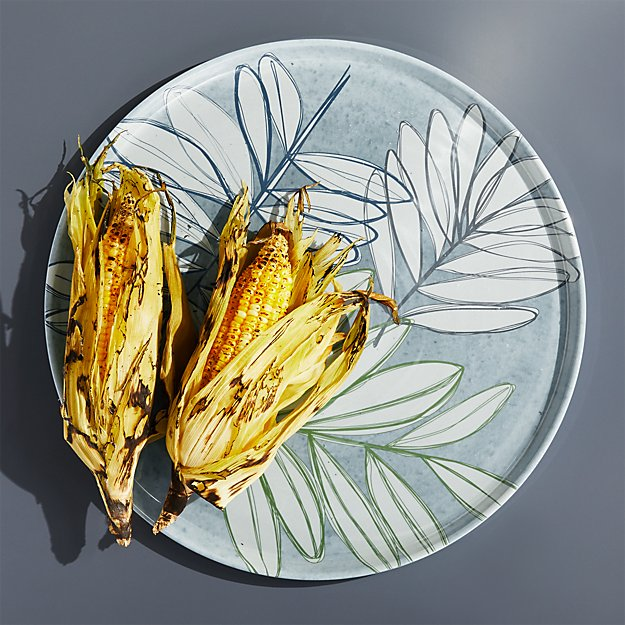 Cruz Botanical Melamine Platter - Image 1 of 5