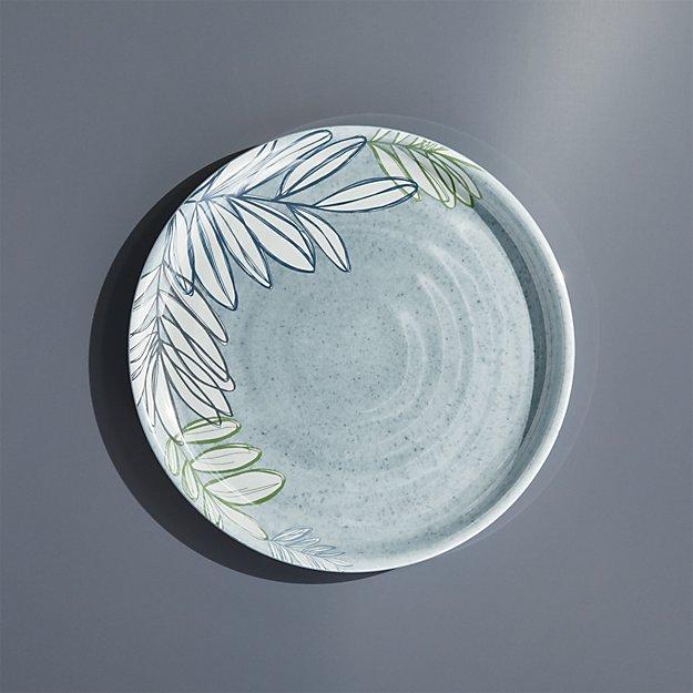 Cruz Botanical Melamine Salad Plate - Image 1 of 5