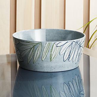 Cruz Botanical Melamine Serving Bowl
