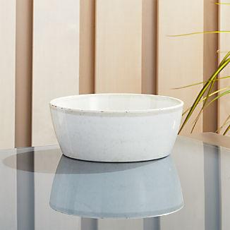 Cruz Cream Melamine Bowl