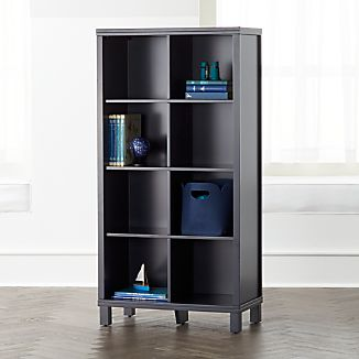 Navy 8 Cube Bookcase