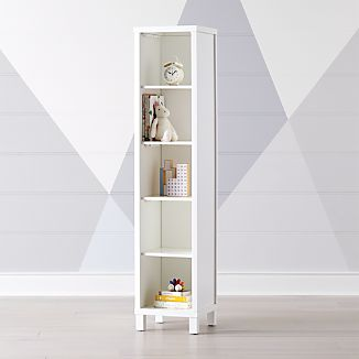 White 5 Cube Bookcase