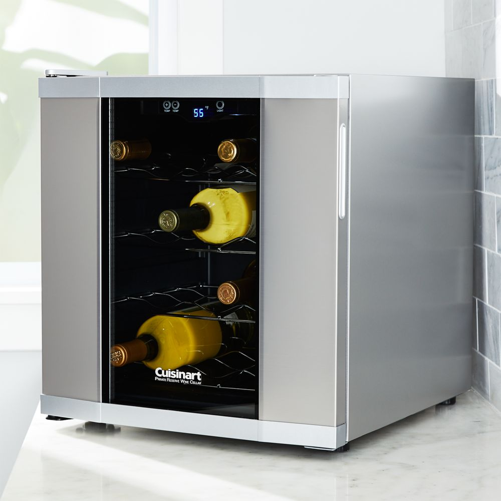 Cuisinart ® 16-Bottle Private Reserve ® Wine Cellar - Crate and Barrel