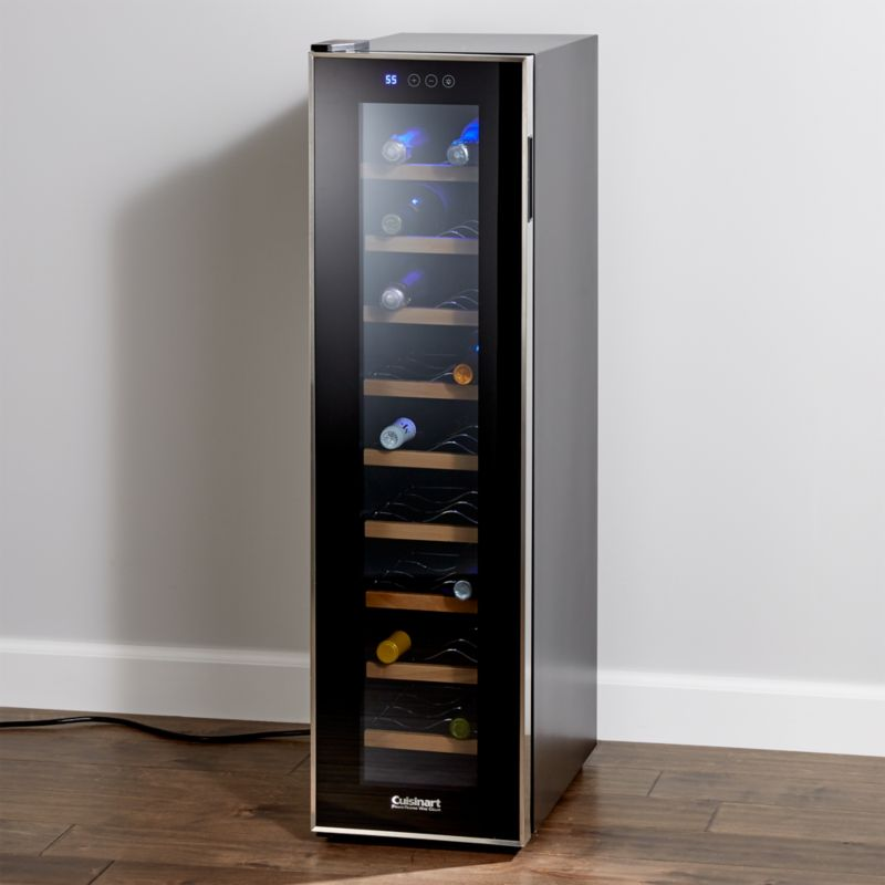 Cuisinart 18 Bottle Wine Cellar Reviews Crate And Barrel