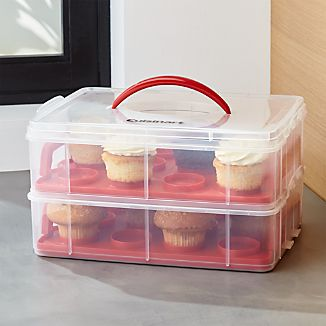Cuisinart ® 2-Tier Cupcake Carrier