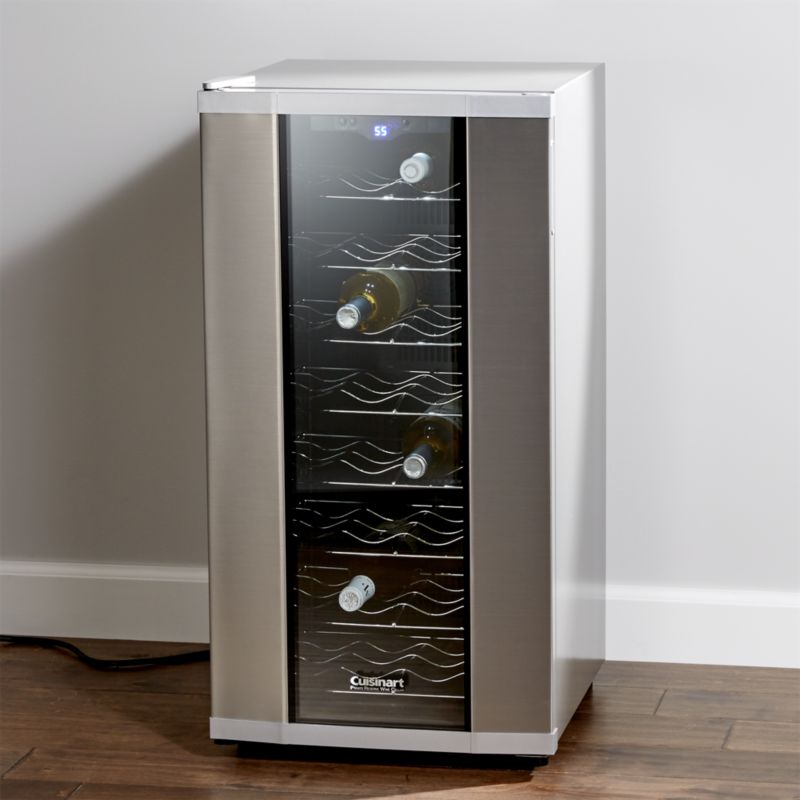 Cuisinart 32 Bottle Wine Cooler Reviews Crate And Barrel