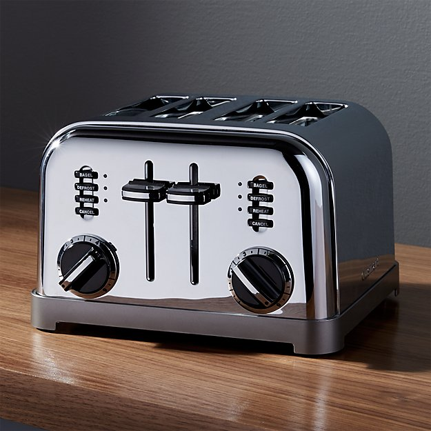 collection london primary slice white toaster