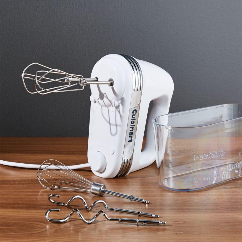 Cuisinart Hand Mixer 9speed Reviews Crate and Barrel