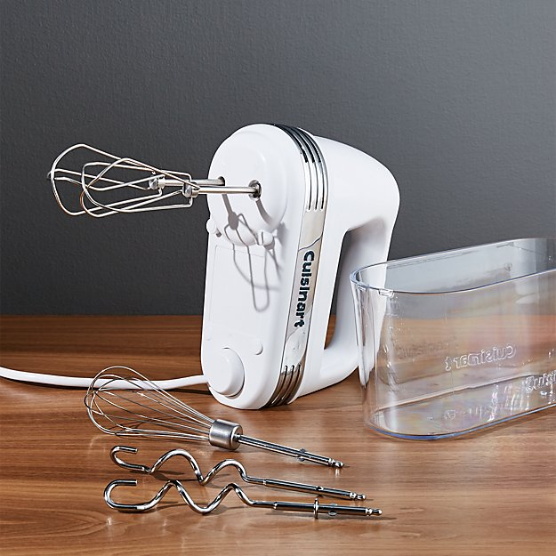 Cuisinart ® White 9-Speed Hand Mixer with Storage Case
