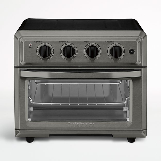 Cuisinart Black Stainless Air Fryer Toaster Oven Crate
