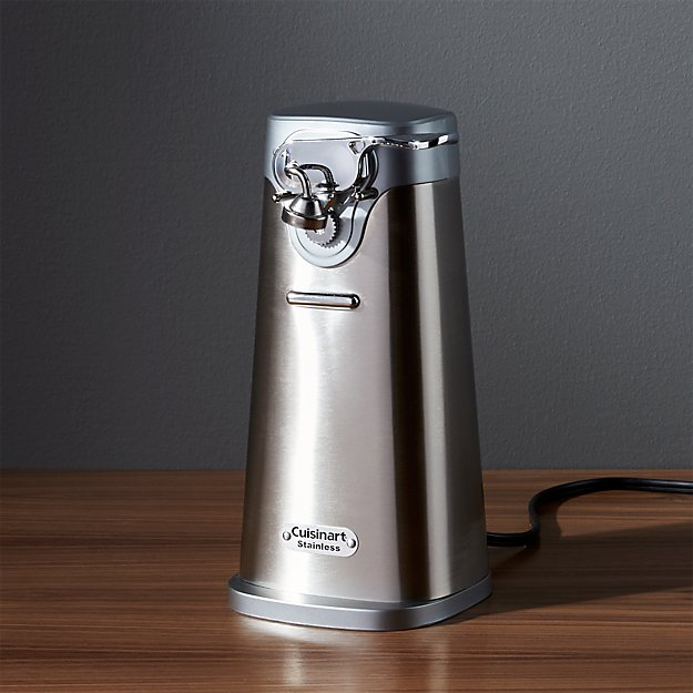 Cuisinart Electric Can Opener Reviews Crate And Barrel