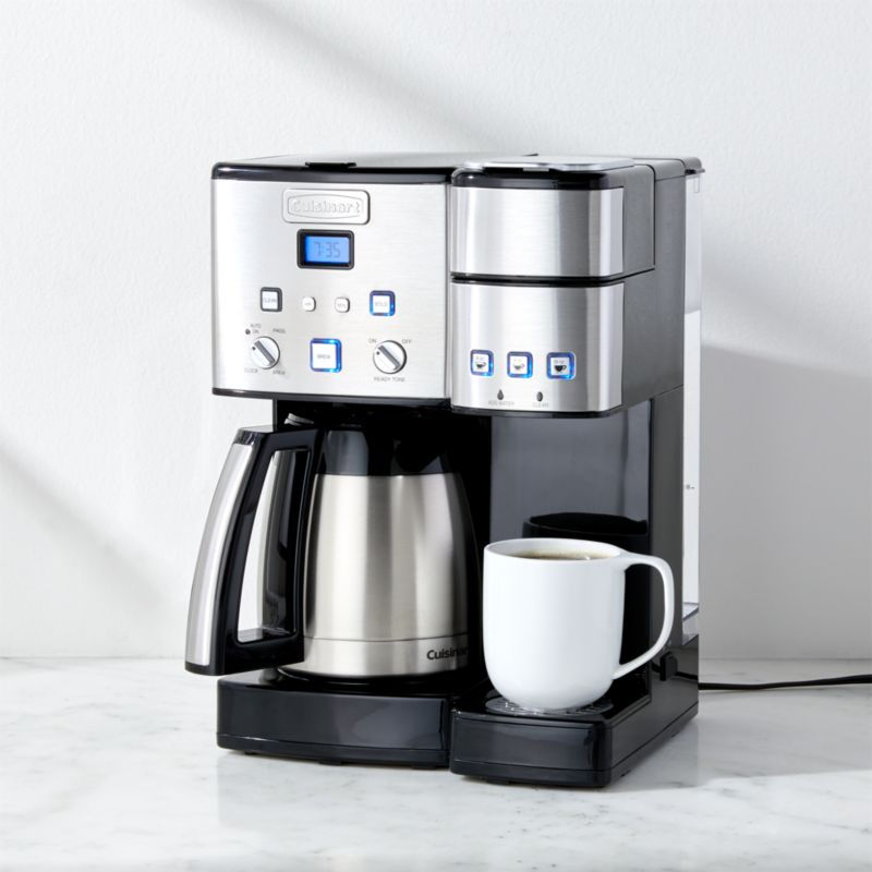 Cuisinart Coffee Center 10 Cup Thermal Coffeemaker And Single Serve Brewer