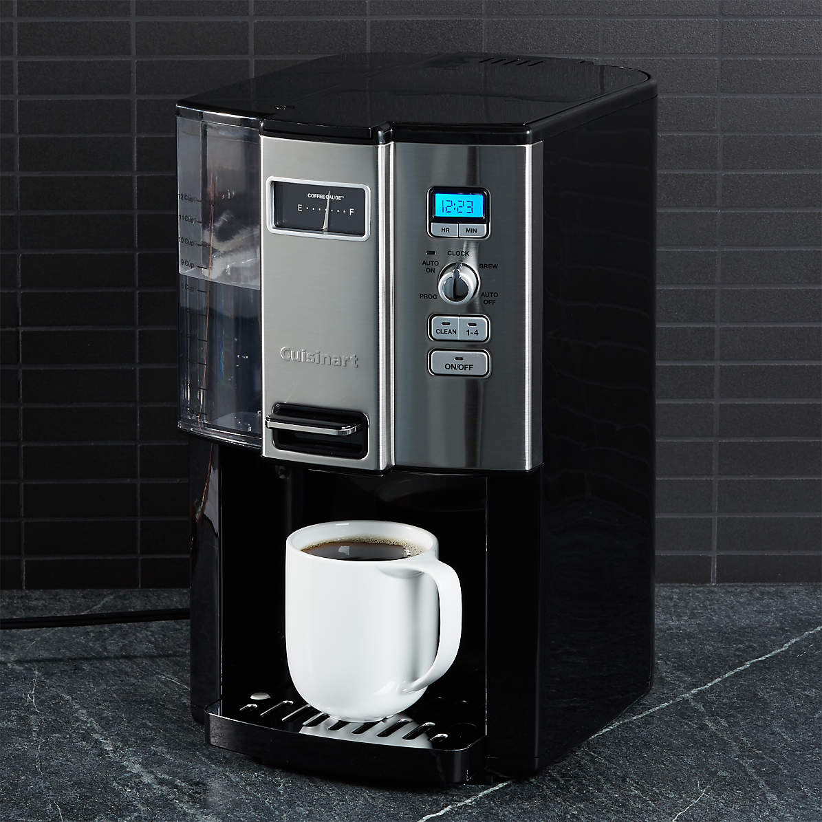 Cuisinart Coffee On Demand 12 Cup Programmable Coffeemaker Reviews Crate And Barrel
