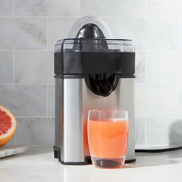 Citrus Juicer Product ~ Cuisinart citrus juicer ccj crate and barrel