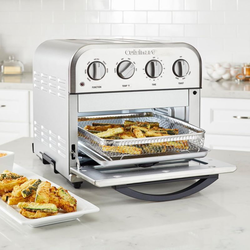 Cuisinart Compact Airfryer Toaster Oven Reviews Crate And Barrel