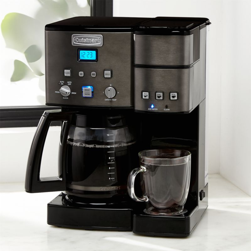 Cuisinart Combi Kcup Carafe Brewer Black Stainless