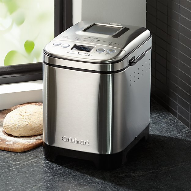 cuisinart bread maker cuisinart compact automatic bread maker reviews crate 11096