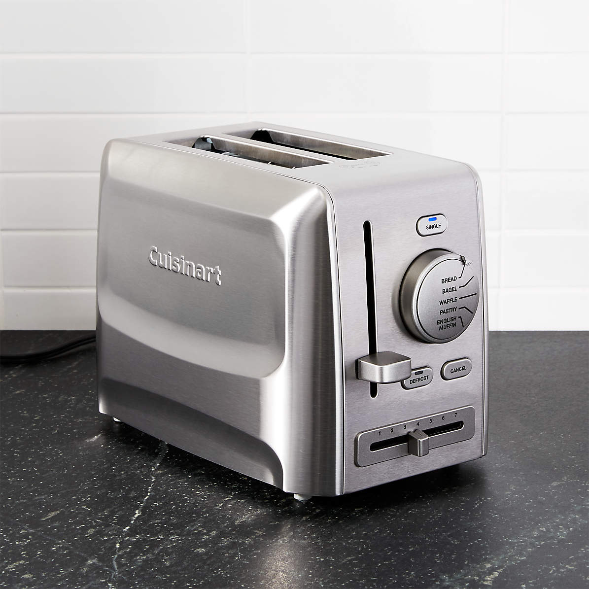 Cuisinart Custom Select 2 Slice Toaster Reviews Crate And Barrel