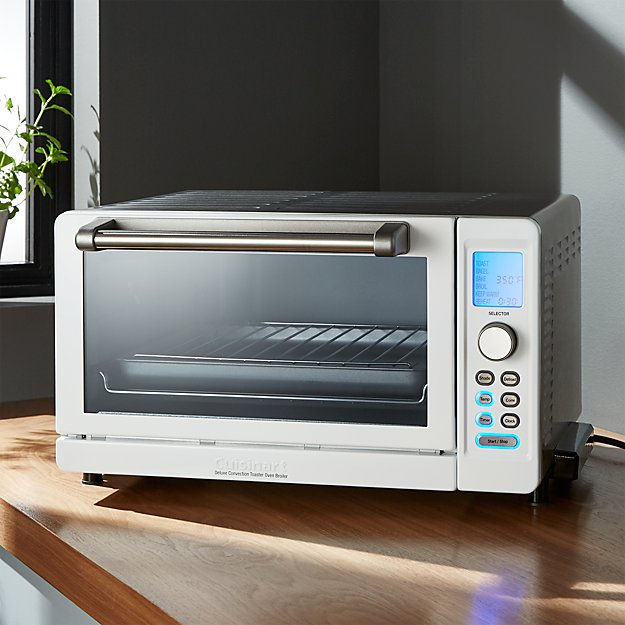Cuisinart ® Deluxe White/Stainless Steel Convection Toaster Oven Broiler