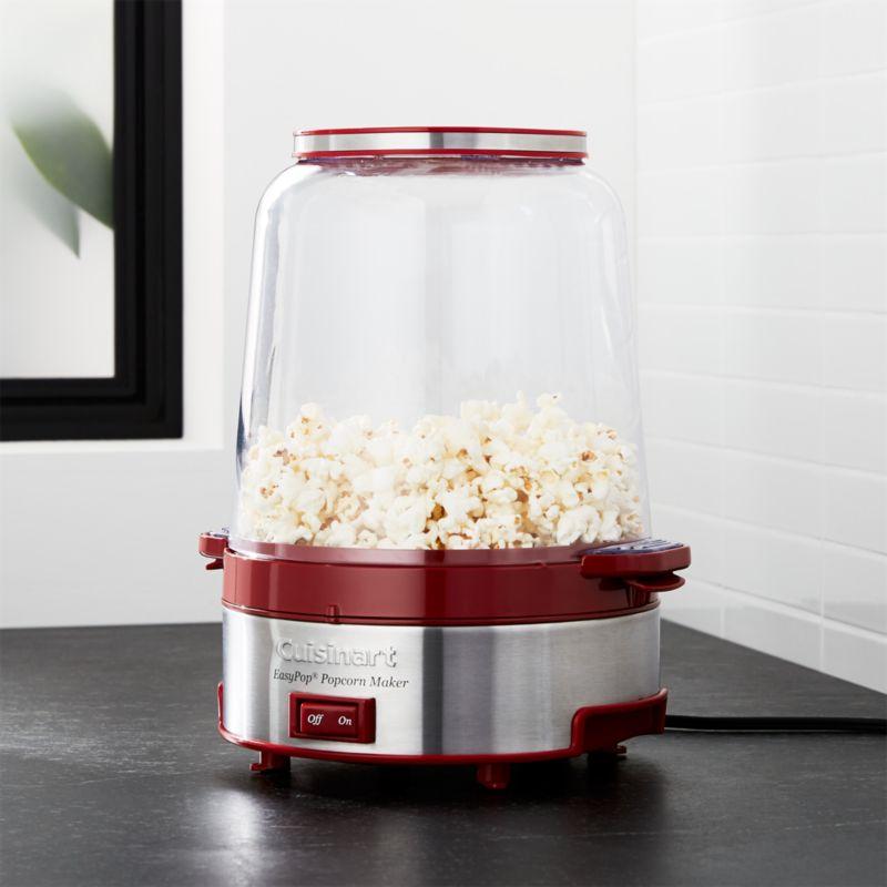 Movie Night Ideas: Popcorn Popper, Popcorn Bowls | Crate and Barrel