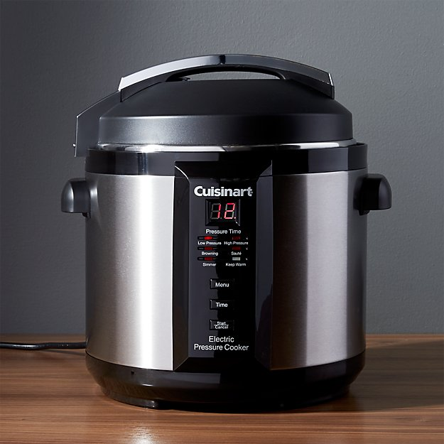 electric pressure cooker cuisinart 6 quart electric pressure cooker reviews 31524