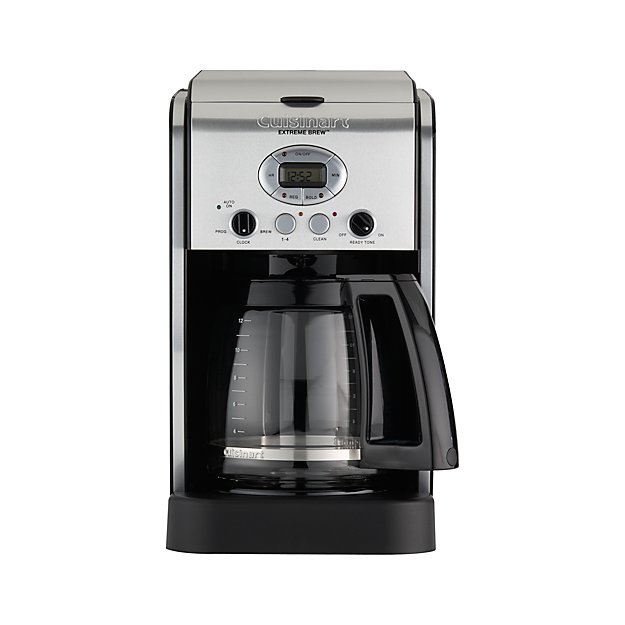 cuisinart 12 cup coffee maker cuisinart 174 12 cup brew coffee maker crate and 29420