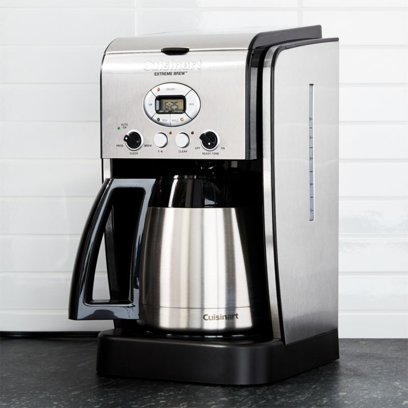 Cuisinart Coffee Maker Overheating : Cuisinart 10 Cup Thermal Extreme Brew Coffee Maker Crate and Barrel