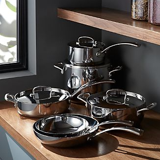 Cuisinart ® French Classic Stainless Steel 10-Piece Cookware Set