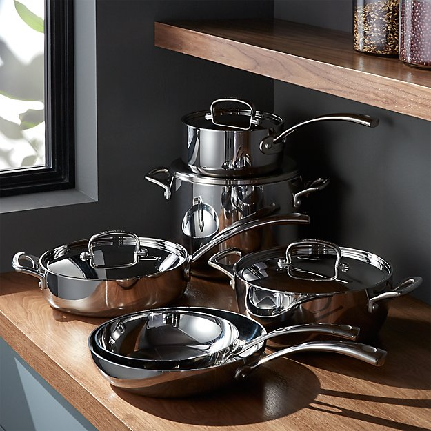 Cuisinart French Classic Stainless Steel 10 Piece Cookware