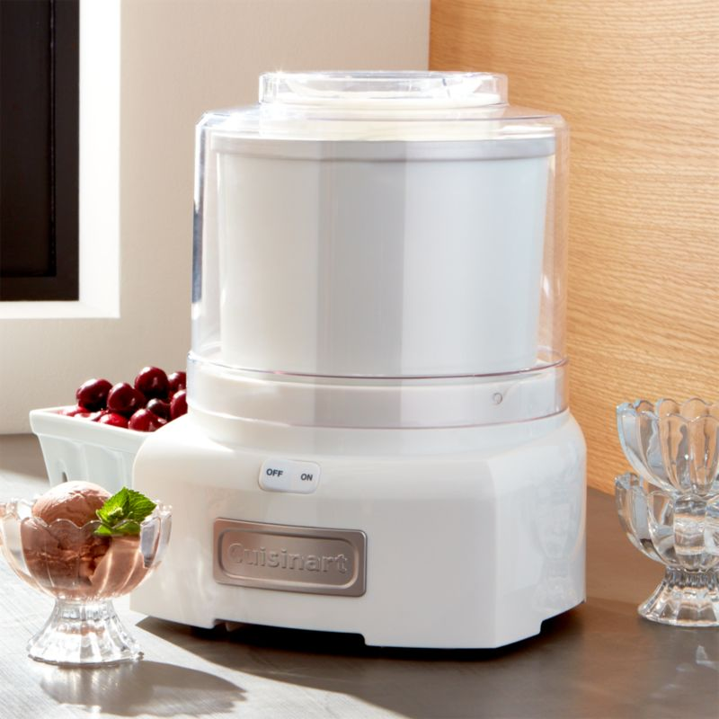 Cuisinart Ice Cream Maker Ice 21 Reviews Crate And Barrel
