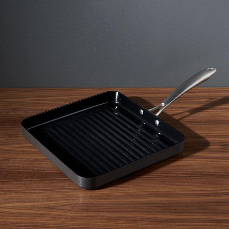 Double Burner Frying Pan