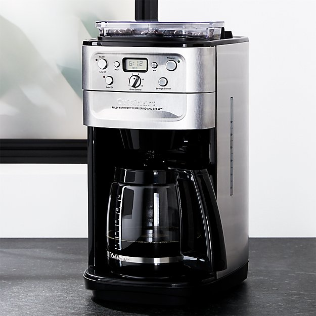 Cuisinart ® Grind and Brew 12 Cup Coffee Maker   Crate and ...