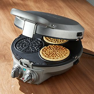 Cuisinart ® Crêpe-Pizzelle-Pancake Maker Plus