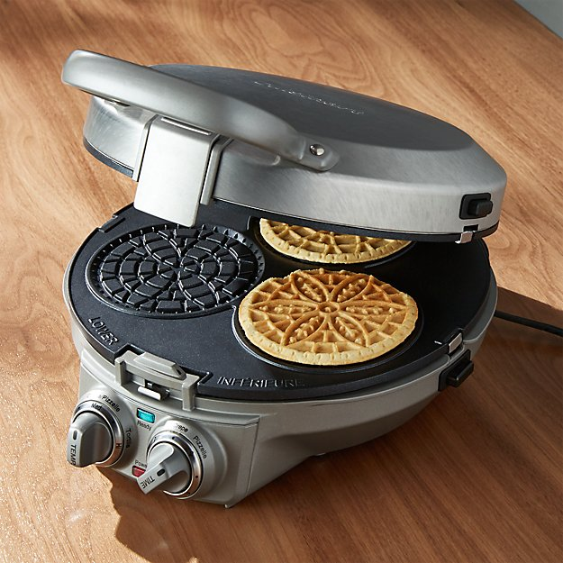 Cuisinart Pizzelle Maker Reviews Crate And Barrel