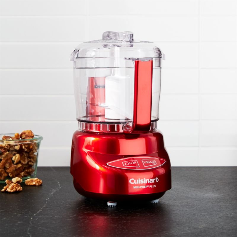 Cuisinart Metallic Red Mini Prep Plus Food Processor