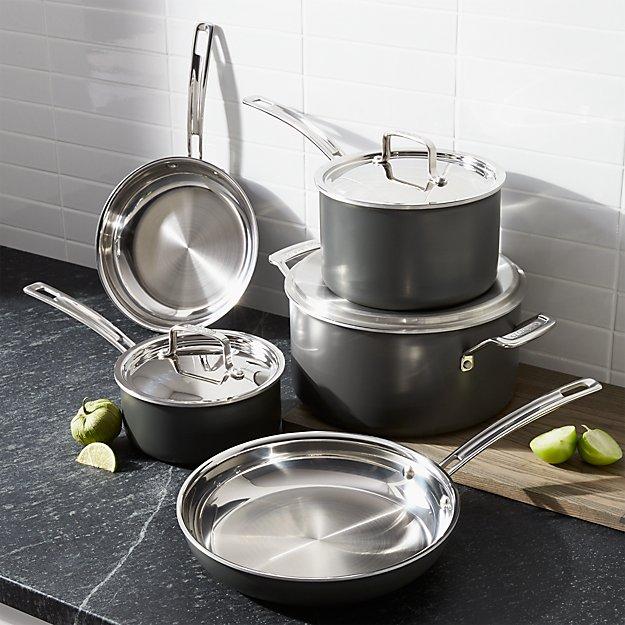 Cuisinart ® MultiClad Unlimited ™ 8-Piece Cookware Set